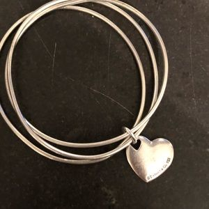 Tiffany & Co bangle heart bracelet